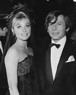 Roman Polanski and wife, Sharon Tate